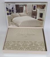 Постельное белье Maison D'or сатин 200х220 Rose Marine Beige
