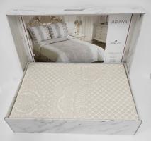 Покрывало My Bed Жакард 240x260 с наволочками Ariana Beige