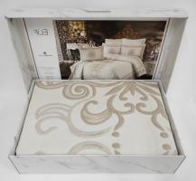 Покрывало My Bed Жакард 240x260 с наволочками Elif Beige