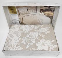 Покрывало My Bed Жакард 240x260 с наволочками Perla Beige