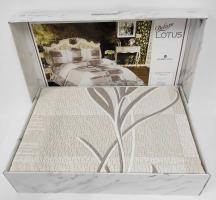 Покрывало My Bed Жакард 240x260 с наволочками Lotus Beige