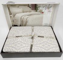 Покрывало My Bed Жакард 240x260 с наволочками Velux Bej