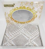 Покрывало My Bed Жакард 240x240 Модель 11 Gold-Cappucino