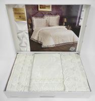 Покрывало My Bed Жакард 240x260 с наволочками Damask Cream