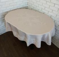 Скатерть Sagol тефлон 160x300 ovale St-060 Cappucino
