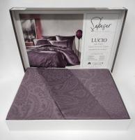 Постельное белье Saheser Jacquard Vip Satin 200X220 Lucio Mor/Purple