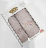 Набор махровых полотенец 2шт АЕ model-5