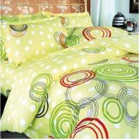 "Комплект постельного белья ""ТЕП"" двоспальний 606 Круги кольорові, 70x70"