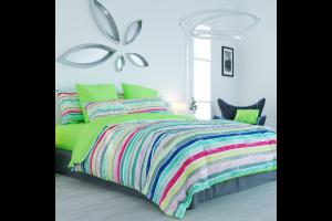 "Комплект постельного белья ""ТЕП"" двоспальний 298 Iva Multi, 70x70"