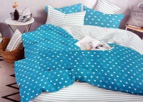 """Комплект постельного белья """"ТЕП"""" двоспальний 357 Cute Hearts, 70x70"""