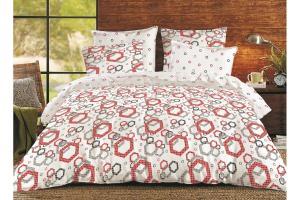 """Комплект постельного белья """"ТЕП"""" двоспальний 355 Shapes, 70x70"""