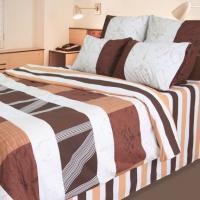Комплект постельного белья ТЕП двуспальное евро 910 Африканський шик, 70x70