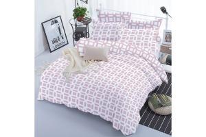 """Комплект постельного белья """"ТЕП""""  євростандарт 330 Lilac Love, 70x70"""