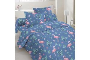 """Комплект постельного белья """"ТЕП""""  полуторный 350 Flamingo, 70x70"""