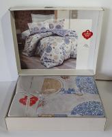 Постельное белье Cotton Box ранфорс 200X220 Lola Mavi