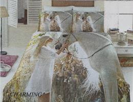 Постельное белье Virginia Secret 3D бамбук 200X220 Charming