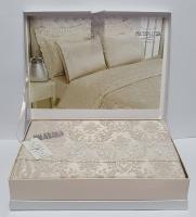 Постельное белье Maison D'or сатин бамбук семейный Zeyna Bej