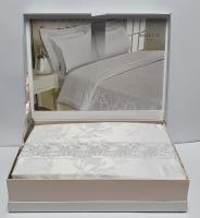 Постельное белье Maison D'or сатин бамбук семейный Neptun Beyaz