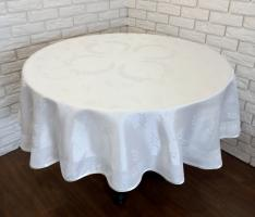 Скатертина тефлонова PVS Maison Royale 160Q Cinar White