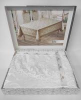 Скатерть Maison Royale 140x180 ovale Eda White