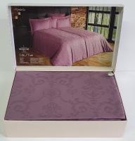 Постельное белье Maison D'or сатин жаккард семейный Mirabella Lilac