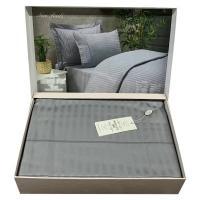 Постельное белье Maison D'or сатин страйп 160х220 Rails Grey