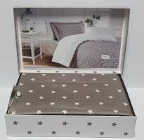 Постельное белье Maison D'or сатин 160х220 Stars Grey