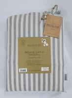 Постельное белье Maison D'or ранфорс полоска 160х220 Lines thick Grey