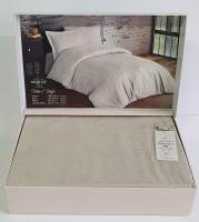 Постельное белье Maison D'or сатин жаккард 160х220 Mirabella Stone