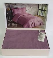 Постельное белье Maison D'or сатин жаккард 160х220 Mirabella Lilac