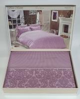 Постельное белье Maison D'or сатин семейный Rose Marine Dark Lilac