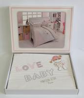 Постельное белье Maison D'or 100х135 Love Baby