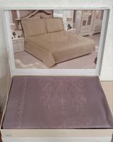 Постільна білизна Maison D'or сатин бамбук 200х220 Adrienne Plum