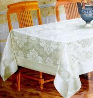 Скатертина з люрексом Sagol 160*220 St-059 Gold