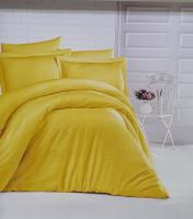 Постельное белье CLASY страйп-сатин 200x220 см Hardal