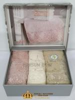 Полотенца Maison D'or 3шт Julia Set 30x50