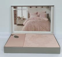 Постельное белье Dantela сатин-жакард 200x220 Louisa Pudra