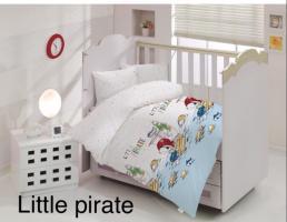Постельное белье Altinbasak ранфорс 100x150 см Little pirate