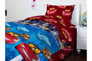 Комплект постельного белья ТЕП  подростковый 949 Тачки, 50x70