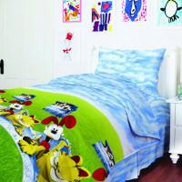 Комплект постельного белья ТЕП  подростковый 950 Гарфилд, 50x70