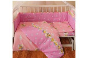 Комплект постельного белья ТЕП  детский (260 Медведь розовый)