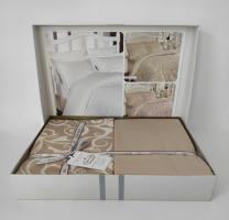 Постельное белье First Choice сатин 160x220 Sweta Ekru