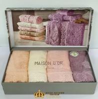 Полотенца Maison D'or 4шт Intensive 30x50
