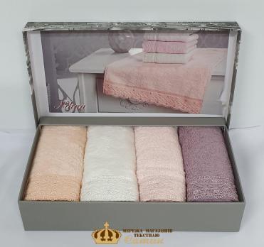 Полотенца Maison D'or 4шт Nihan 30x50