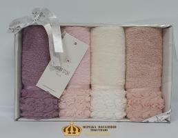 Полотенца Maison D'or 4ШТ Rosa 32x50