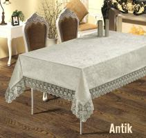 Скатерть Велюр Maison Royale 160x220 Antik Cream