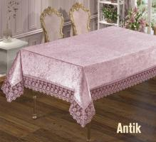 Скатерть Велюр Maison Royale 160x220 Antik Powder