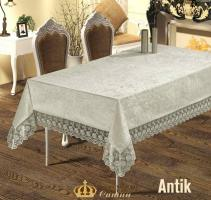 Скатерть Велюр Maison Royale 160x300 Antik Cream