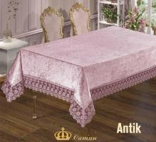 Скатерть Велюр Maison Royale 160x300 Antik Powder