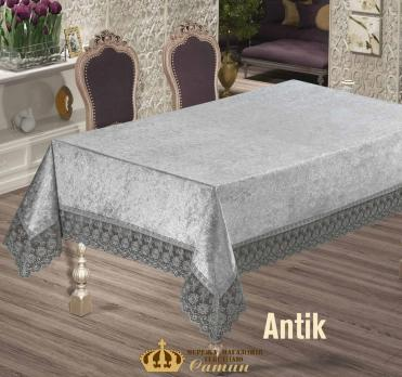 Скатерть Велюр Maison Royale 160x350 Antik Grey